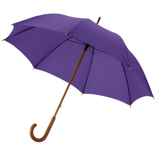 Jova 23'' umbrella with wooden shaft and handle in lavender