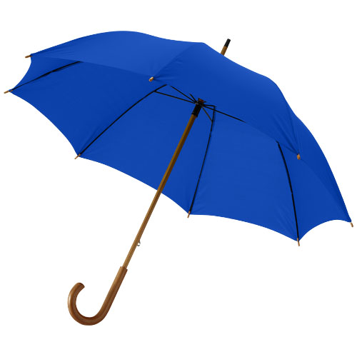 Jova 23'' umbrella with wooden shaft and handle in royal-blue