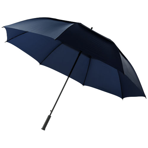 Brighton 32'' auto open vented windproof umbrella in navy
