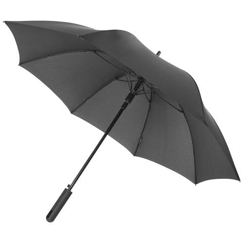 Noon 23'' auto open windproof umbrella in black-solid
