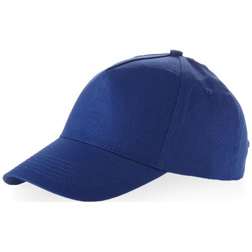 Memphis 5 panel cap in classic-royal-blue