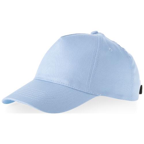 Memphis 5 panel cap in light-blue