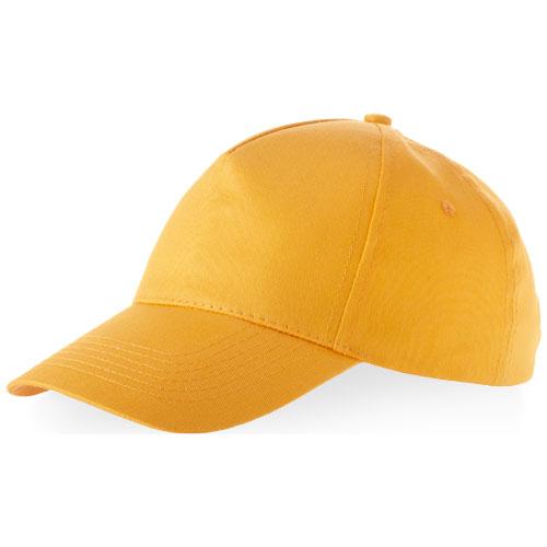 Memphis 5 panel cap in orange