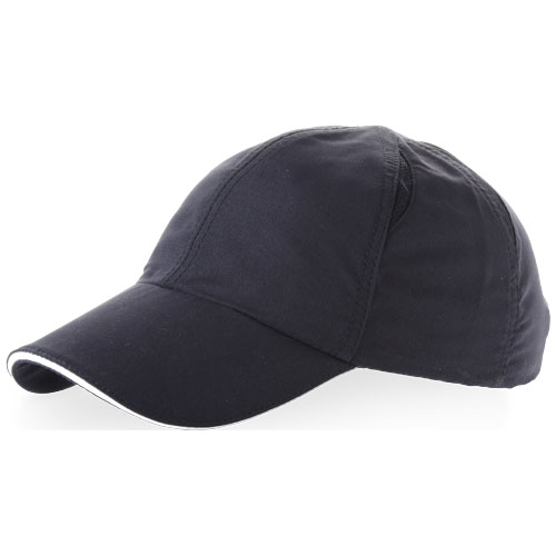 Alley 6 panel cool fit sandwich cap in navy