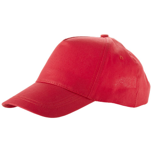 Memphis kids 5-panel cap in red