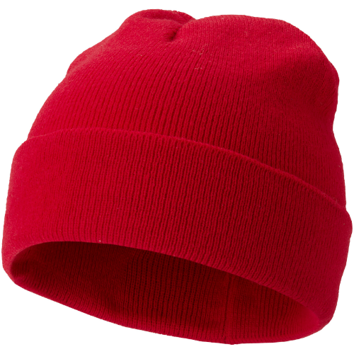 Irwin beanie in red
