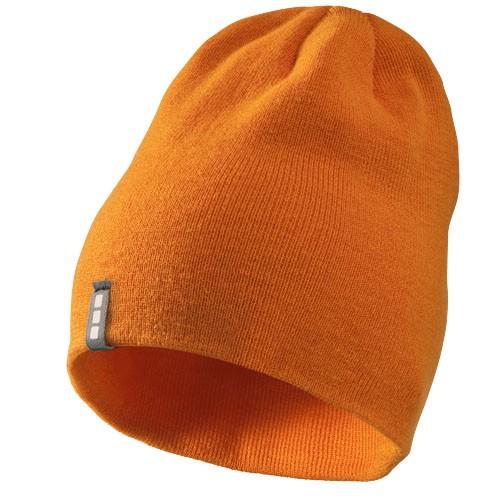 Level beanie in orange