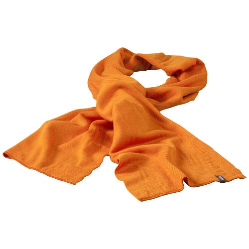 Mark scarf in orange