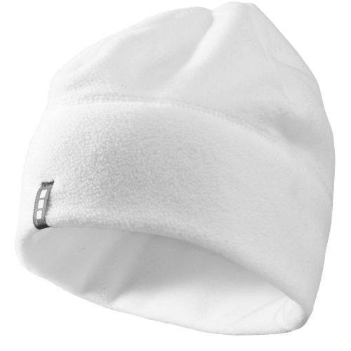 Caliber beanie in white-solid