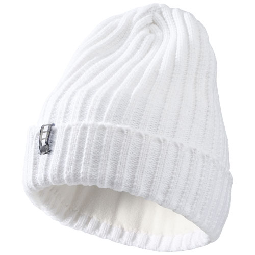 Spire hat in white-solid