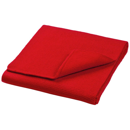 Columbus scarf in red