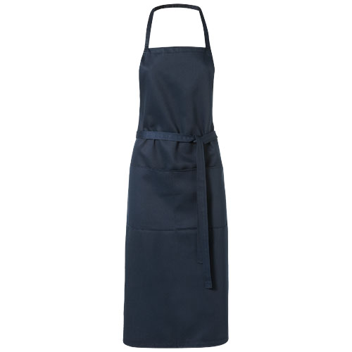 Viera apron with 2 pockets in navy