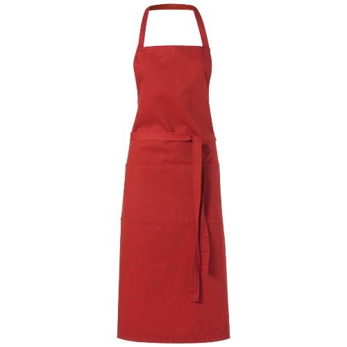 Viera apron in red
