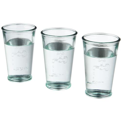 3 Water glasses in