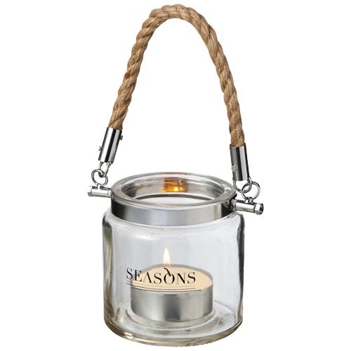 Solano glass lantern in