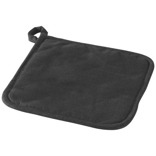 Arica pot holder in black-solid