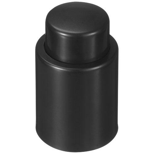 Kava wine stopper in black-solid