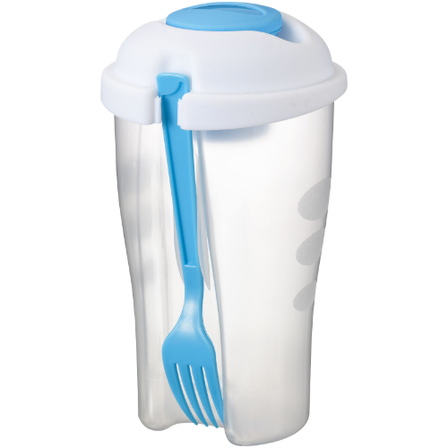 Shakey salad container set in
