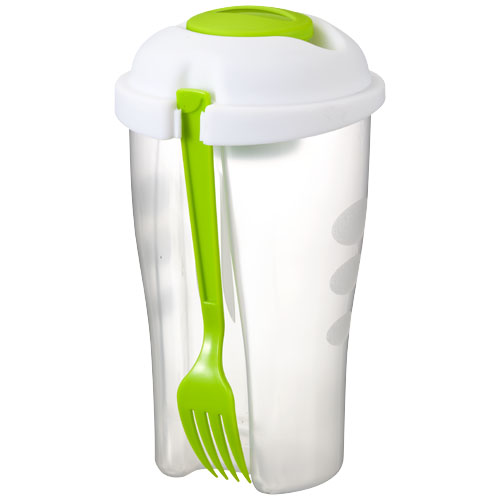 Shakey salad container set in lime