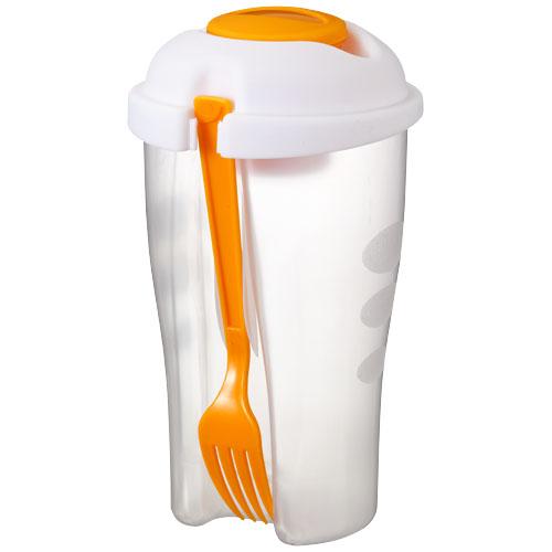 Shakey salad container set in orange
