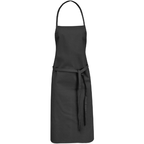 Reeva cotton apron with tie-back closure in