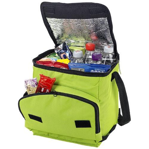 Stockholm foldable cooler bag in lime