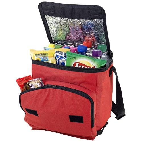 Stockholm foldable cooler bag in red