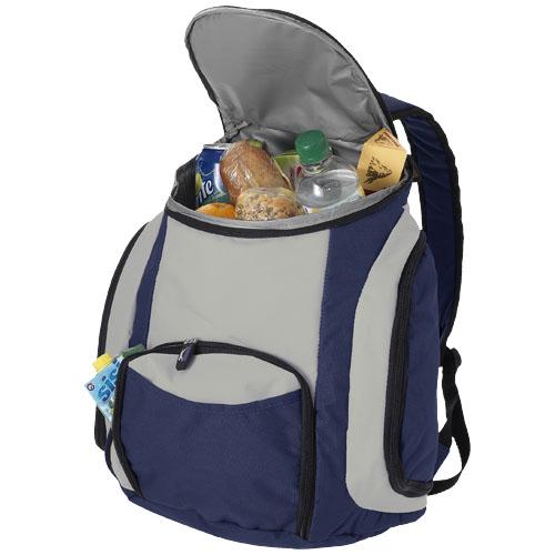 Brisbane cooler backpack in navy-and-grey