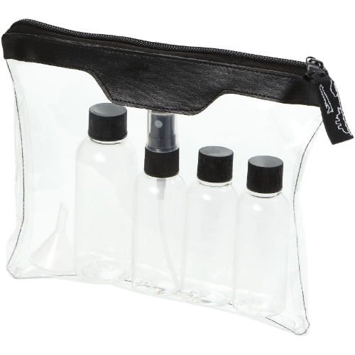 Munich airline approved travel bottle set in