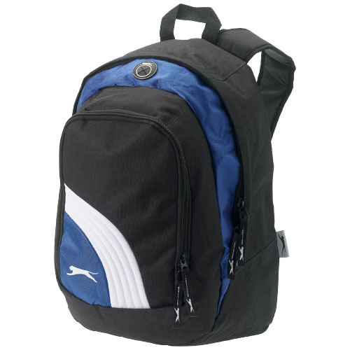 Wembley backpack in black-solid-and-blue