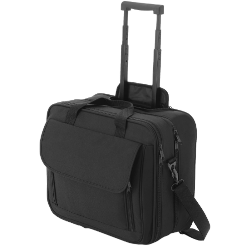 Business 15.4'' laptop trolley in black-solid