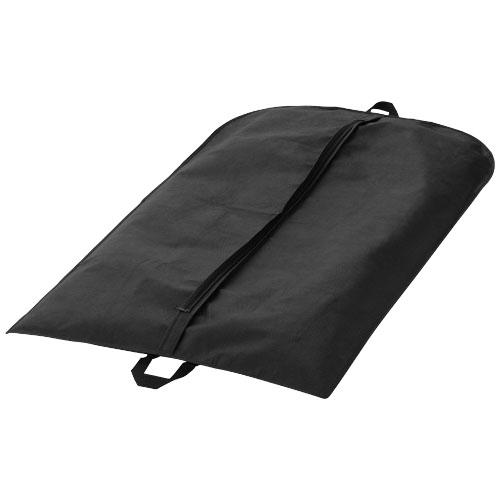 Hannover non-woven suit cover in black-solid