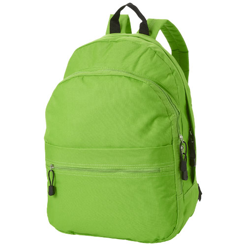 Trend 4-compartment backpack in apple-green