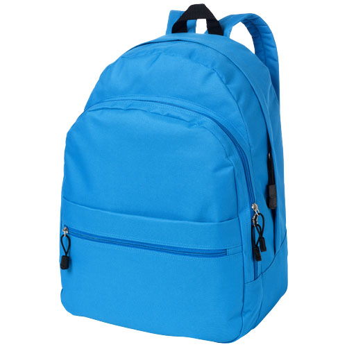 Trend 4-compartment backpack in aqua-blue
