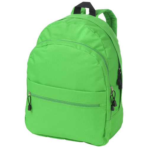 Trend 4-compartment backpack in bright-green