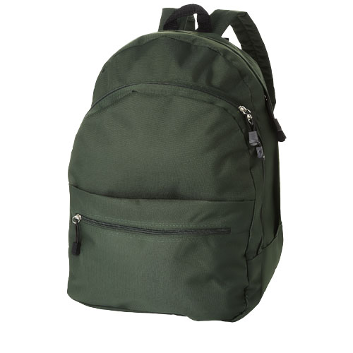 Trend 4-compartment backpack in green