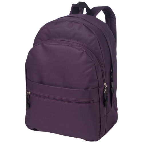 Trend 4-compartment backpack in purple