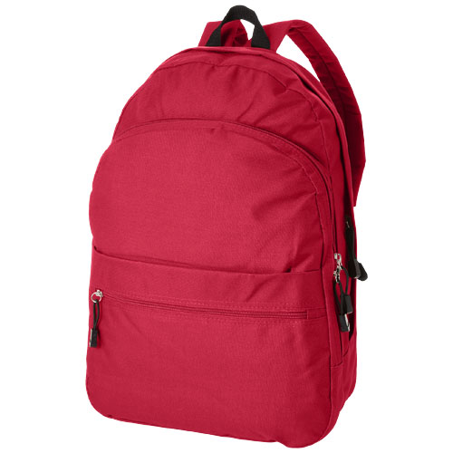 Trend 4-compartment backpack in red