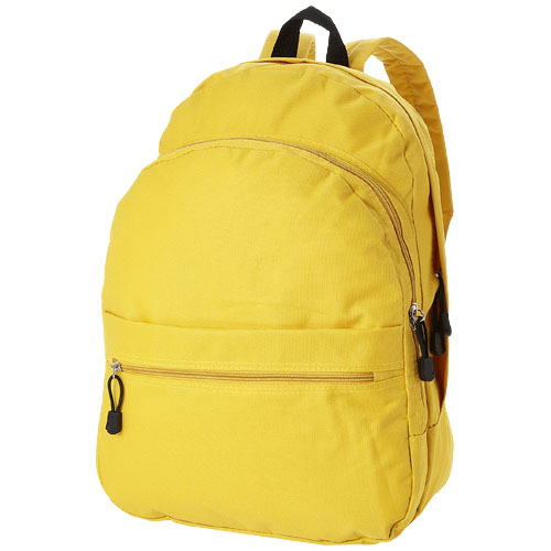 Trend 4-compartment backpack in yellow