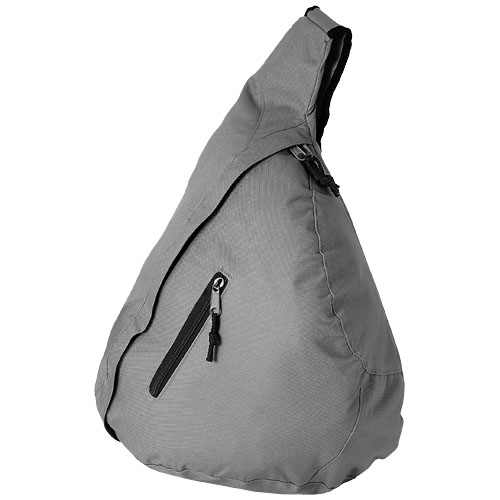Brooklyn mono-shoulder backpack in light-grey
