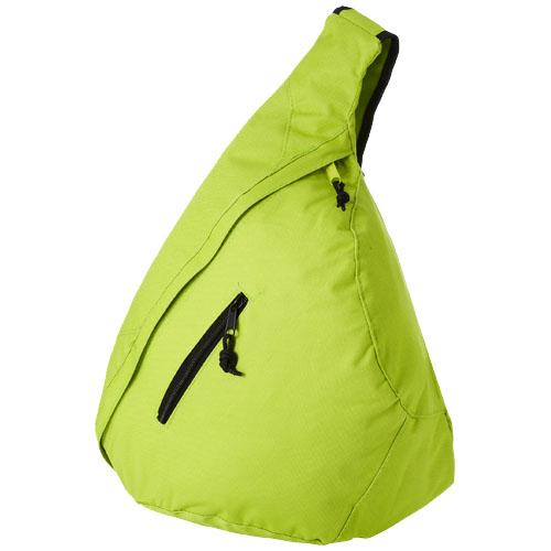 Brooklyn mono-shoulder backpack in lime