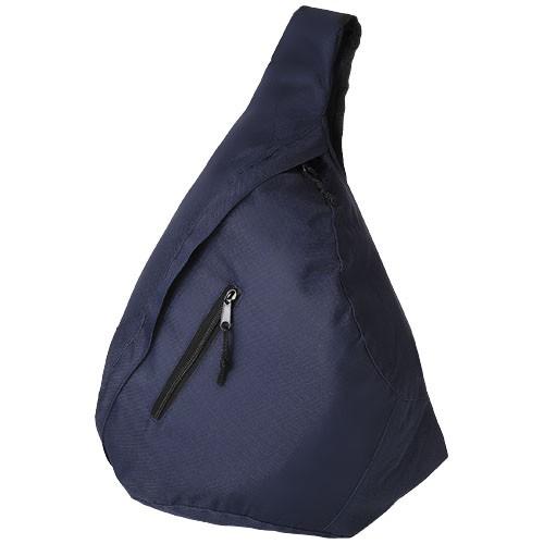 Brooklyn mono-shoulder backpack in navy