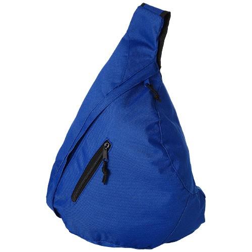 Brooklyn mono-shoulder backpack in royal-blue