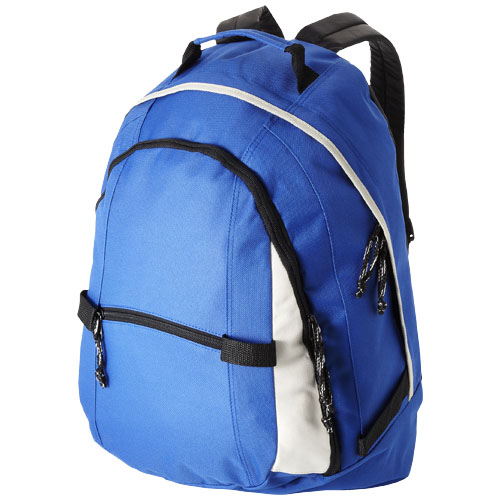 Colorado covered zipper backpack in royal-blue