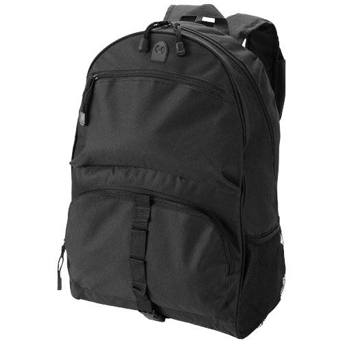 Utah backpack in black-solid