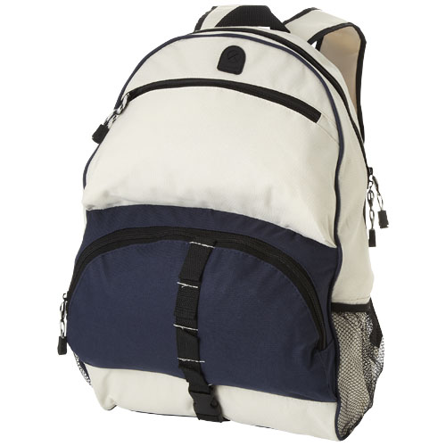 Utah backpack in navy-and-off-white