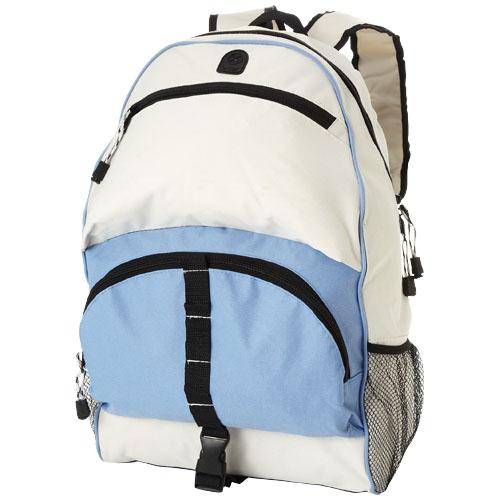Utah backpack in ocean-blue-and-off-white