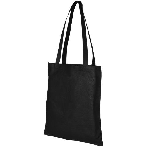 Zeus large non-woven convention tote bag in yellow