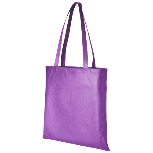 Zeus large non-woven convention tote bag in lavender