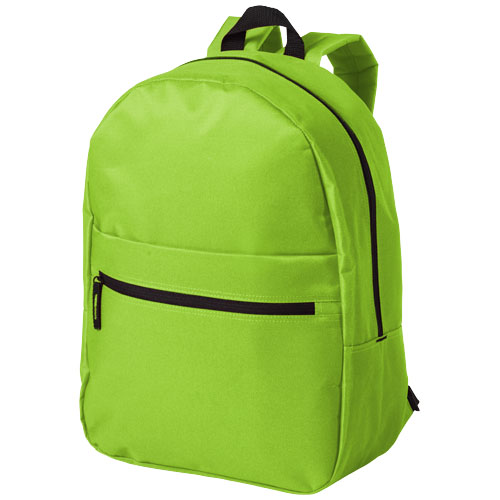 Vancouver dual front pocket backpack in apple-green